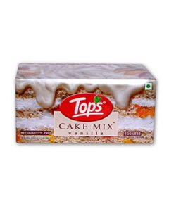 Tops Cake Mix Vanilla 250gm