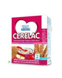 Nestle Cerelac - Wheat Apple Cherry (Stage 2) 300 gm