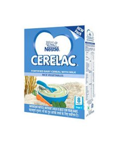 Nestle Cerelac Stage 2 Rice Vegetables 300 gm
