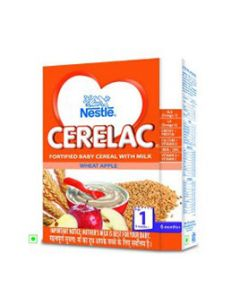 Nestle Cerelac Wheat Apple Stage 1 300 gm