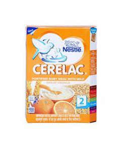 Nestle Cerelac Wheat Orange Stage 2Â 300 gm