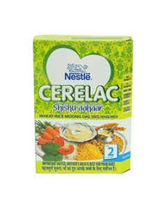 Nestle Cerelac Wheat Rice Moong Dal Khichdi Stage 2 300 gm